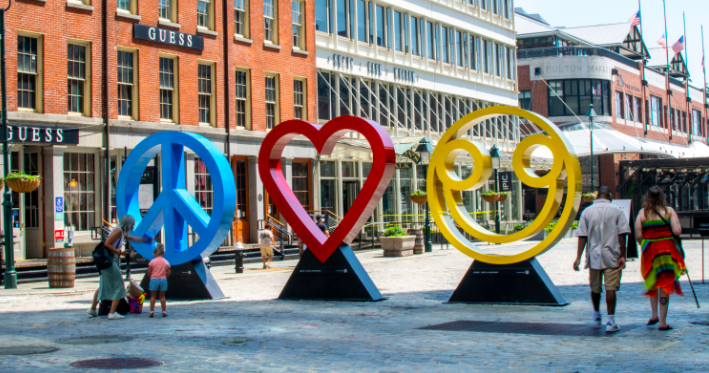 Peace, Love & Happiness Seaport Style