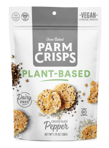ParmCrisps Launches Plant-Based, Dairy-Free Cheese Crisps