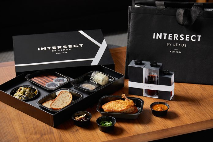 Intersect by Lexus restaurant residency
