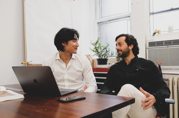 Changing Room founders Martim De Mello and Jeremy Yao